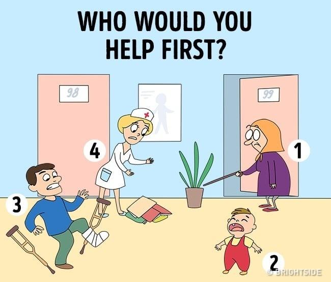 Отговорете На Този Въпрос Без Да Мислите ... Вашият Резултат Ще Бъде Сериозно Разкриващ 8