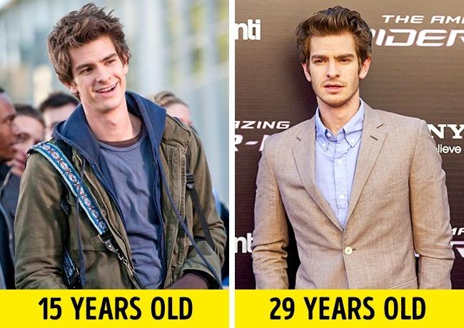 12 Актьора, Които Са Се Превърнали Блестящо В Много По-Млади Герои 54