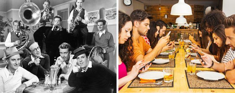 Вижте Какви Са Били Снимките Преди Години И Сега 55