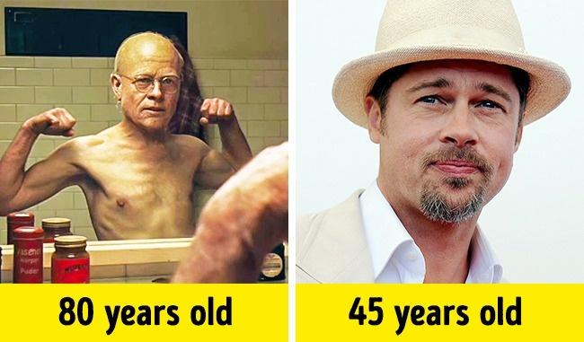 10 Актьори, Които Блестящо Изиграват Герои, Които Са Много По-Стари От Самите Тях 12