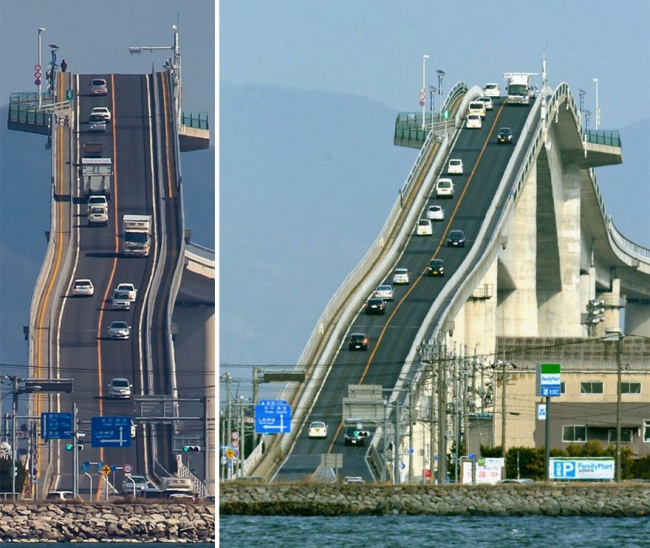 Не, Това Не Е Влакче...Това Е Мост В Япония 8