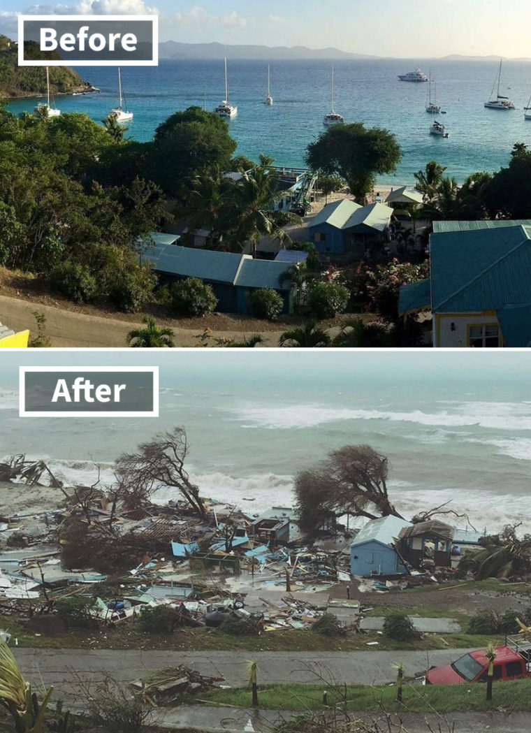 Потресаващи Снимки, Които Разкриват Колко Ужасен Е Наистина Урагана Ирма 11