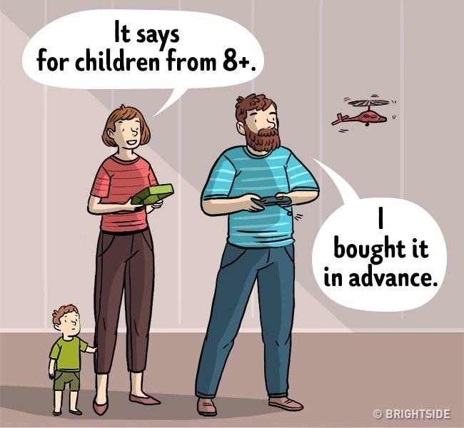15 Комикси За Това, Което Означава Да Бъдеш Баща 57