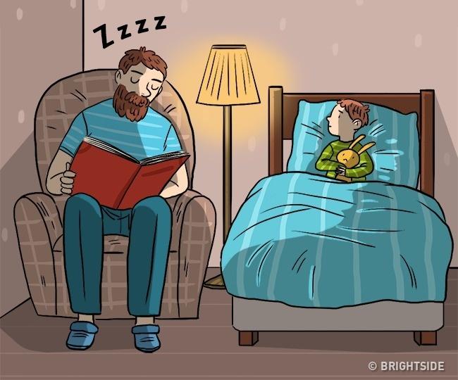 15 Комикси За Това, Което Означава Да Бъдеш Баща 54