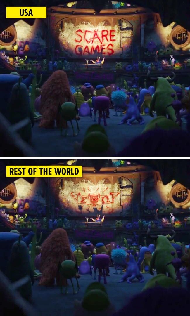 7 Известни Анимационни Филми, Които Бяха Променени В Другите Страни 38