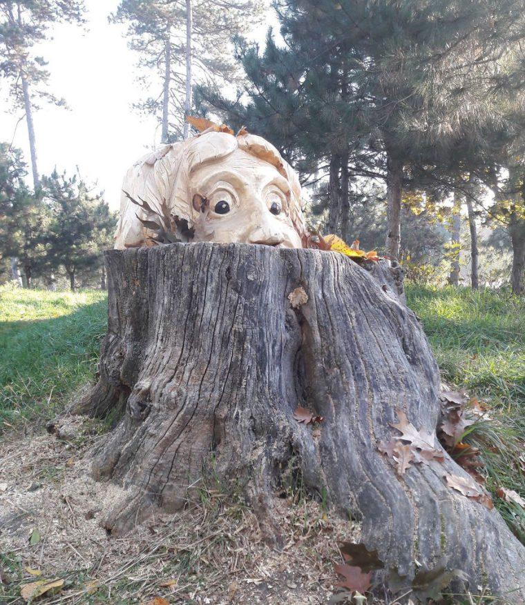 Художник Използва Верижен Трион, За Да Превърне Дърветата В Скулптури, А Резултатът Е Впечатляващ 57