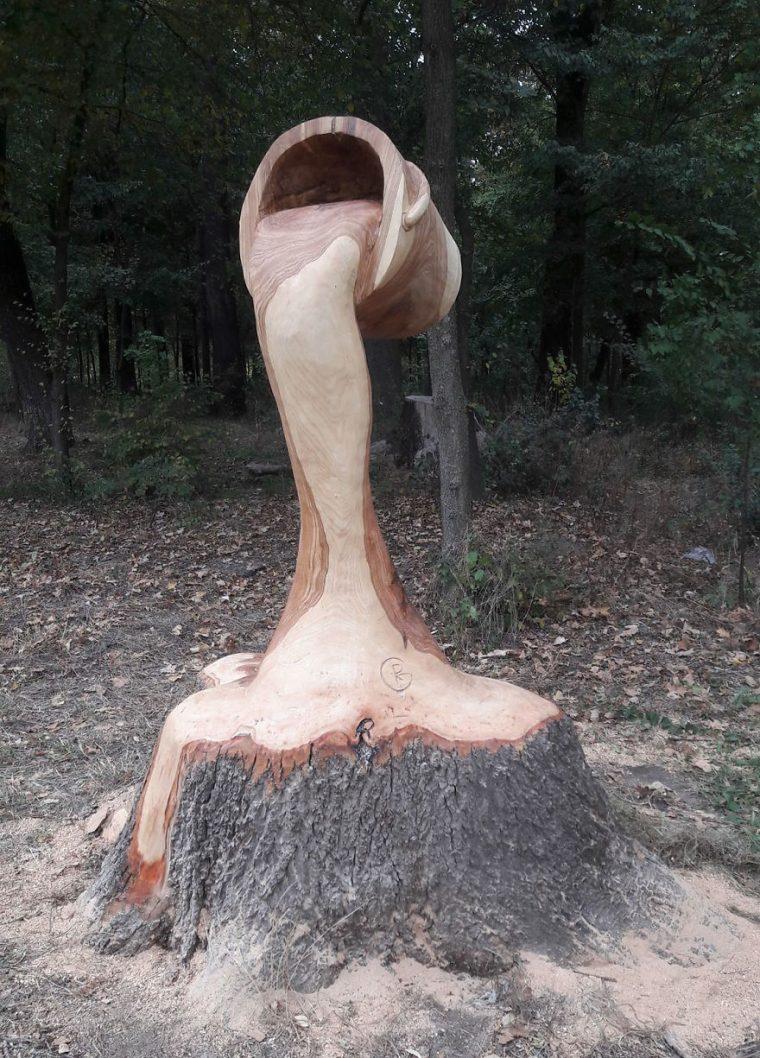 Художник Използва Верижен Трион, За Да Превърне Дърветата В Скулптури, А Резултатът Е Впечатляващ 54