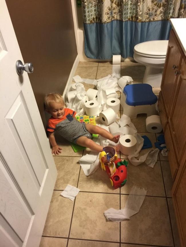 Тези снимки доказват, че децата живеят в един абсолютно измислен свят с техни правила и условия! Или се съгласяваш или.. 58