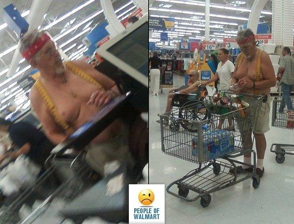 Когато отидеш да си напазариш в магазина и до теб застане някой от тези клиенти.. Как ще реагираш? 55