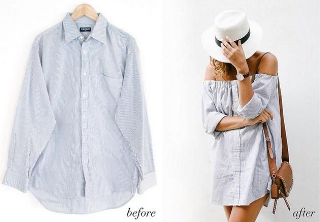 Не изхвърляй старите си ризи, виж как може да ги трансформираш в нещо полезно и практично! 35