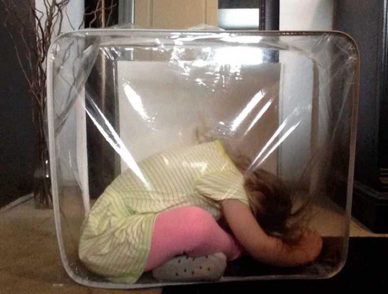Тези деца обичат да играят на криеница.. Дали обаче могат да го правят? Вижте.. 9