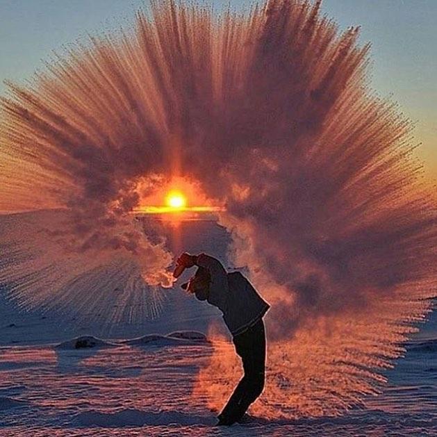 Тези природни аномалии, могат да се случат само когато е замръзващо студено! Шокиращи кадри! 8