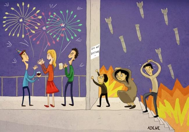 Тези илюстрации показват другата страна на съвременния ни свят.. ЖАЛКО! 54