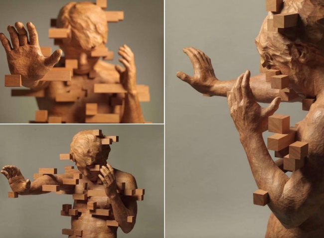 Тези 17 Дървени скулптури са толкова реалистични, сякаш всеки момент ще оживят.. Шокиращо! 60