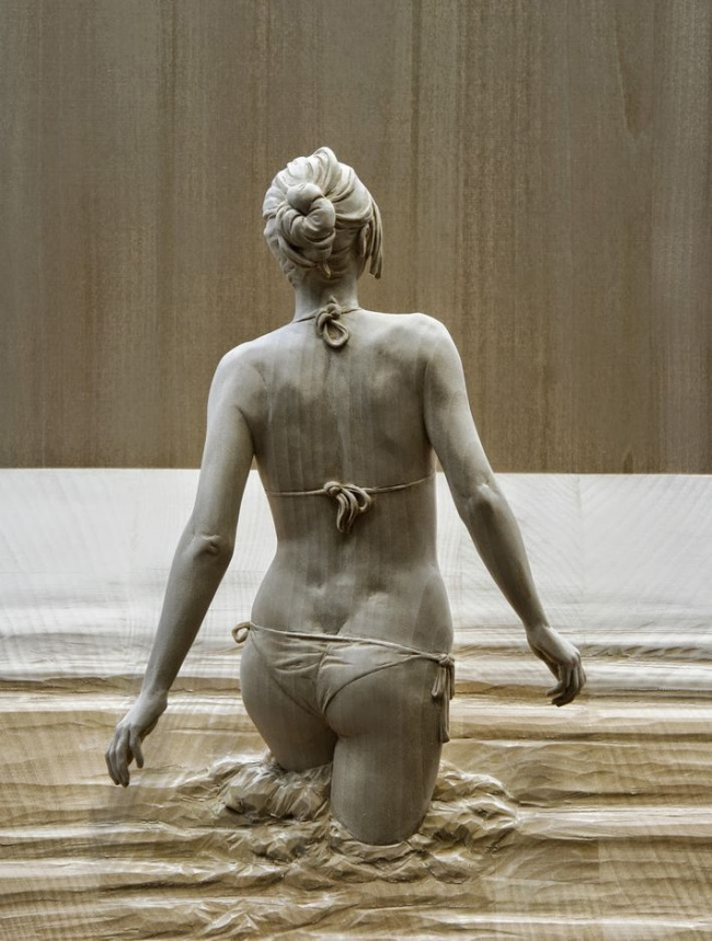 Тези 17 Дървени скулптури са толкова реалистични, сякаш всеки момент ще оживят.. Шокиращо! 58
