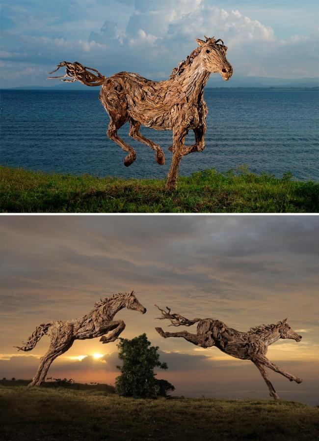 Тези 17 Дървени скулптури са толкова реалистични, сякаш всеки момент ще оживят.. Шокиращо! 56
