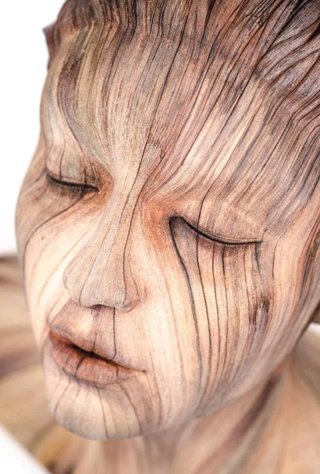 Тези 17 Дървени скулптури са толкова реалистични, сякаш всеки момент ще оживят.. Шокиращо! 54