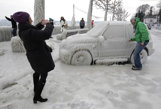 Тези природни аномалии, могат да се случат само когато е замръзващо студено! Шокиращи кадри! 9