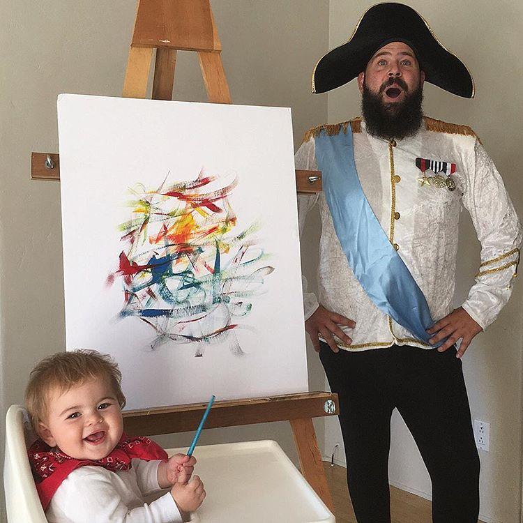 Този баща направи детето си най-щастливо на земята.. виж снимките и историята им 15