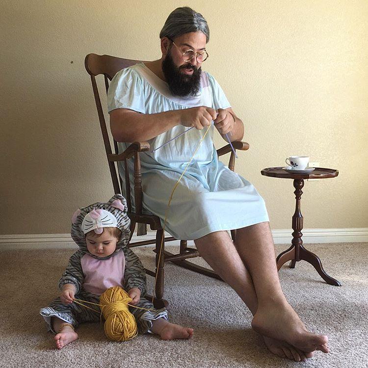 Този баща направи детето си най-щастливо на земята.. виж снимките и историята им 12