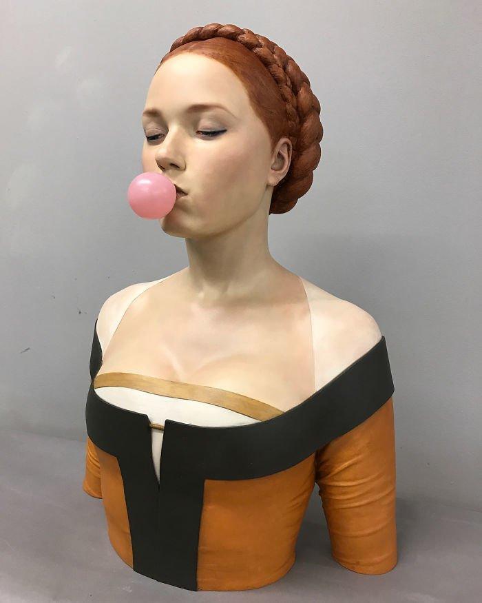 Така биха изглеждали по модерен начин скулптурите от Ренесанса! Шокиращо 57