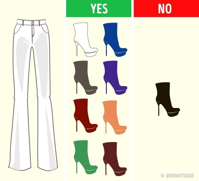 Как да съчетаеш перфектно обувките си с всякакъв вид облекло? Разбери тук 8