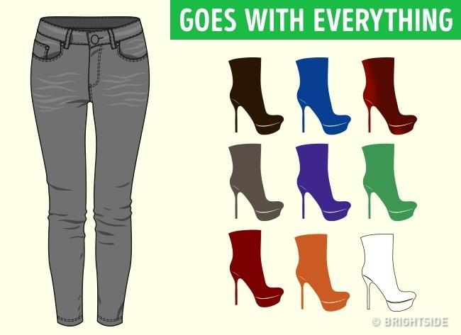 Как да съчетаеш перфектно обувките си с всякакъв вид облекло? Разбери тук 9