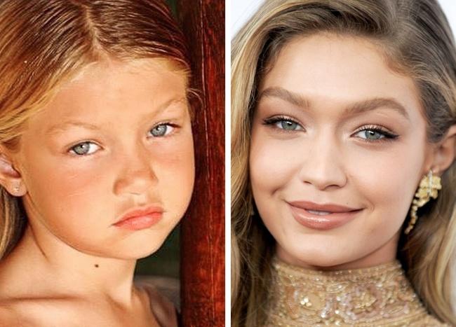 Ген или пластична хирургия? 12 снимки на известни личности, които са били красавици от детството 56