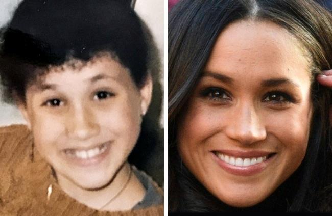 Ген или пластична хирургия? 12 снимки на известни личности, които са били красавици от детството 55