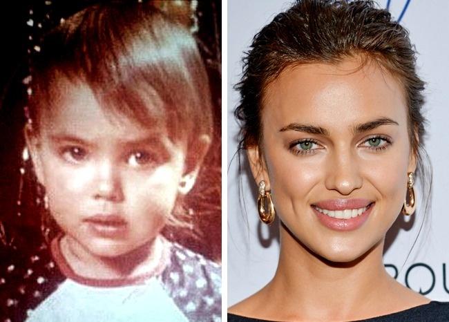 Ген или пластична хирургия? 12 снимки на известни личности, които са били красавици от детството 54