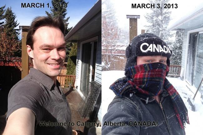 Тези 20 Снимки показват през какво нещо трябва да мине всеки един Канадец.. Съвсем различен живот от 56