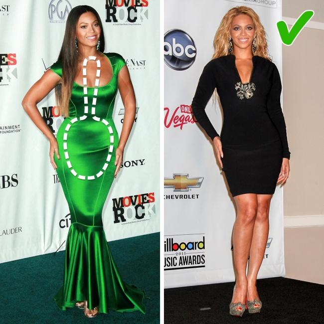 8 Експертни съвета за намиране на перфектната рокля за твоята форма на тялото! 14