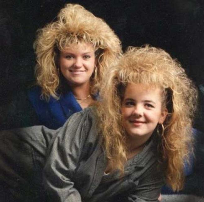 Тези 23 снимки доказват, че е по-добре никога да не се връщаме към модата на 80-те.. 62