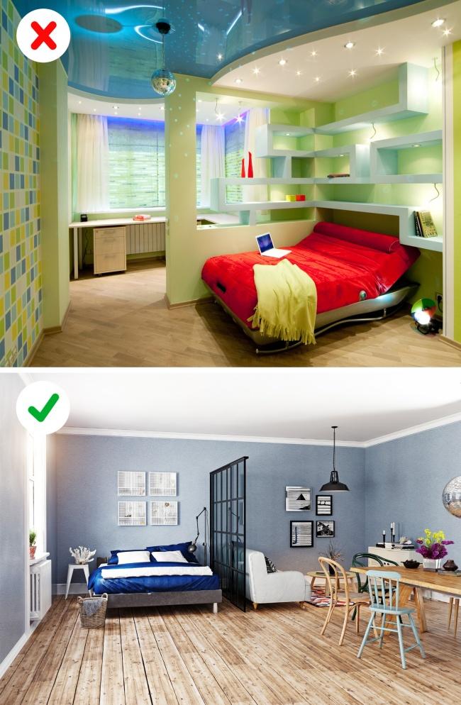 Никога не декорирайте апартамента си по-този начин! Вече е демоде 57