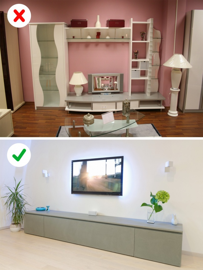 Никога не декорирайте апартамента си по-този начин! Вече е демоде 58