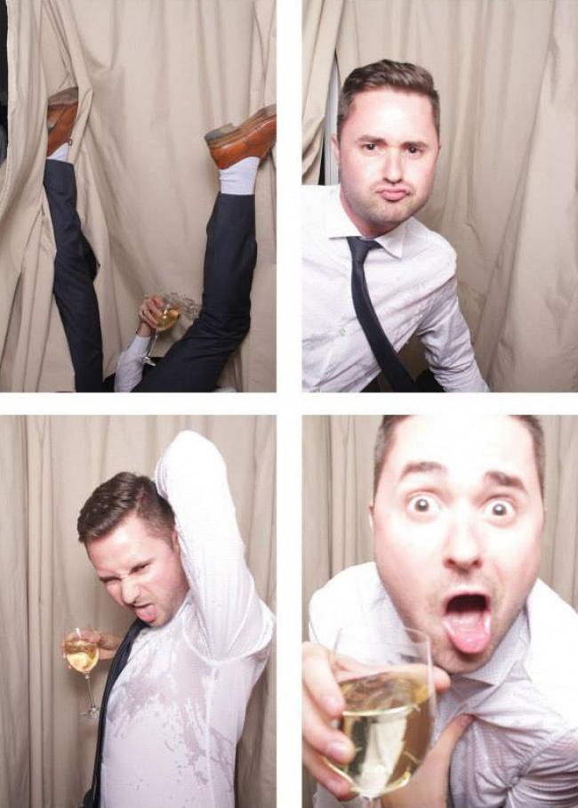 Когато сватбените фотографи уловят нещо, което не е трябвало.... 56