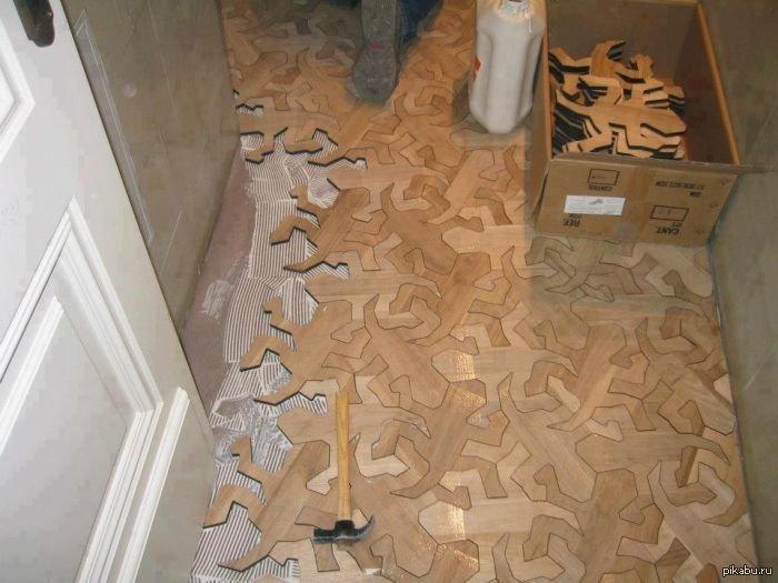 Ако си решил да ремонтираш пода в дома си, то определено виж как са го направили професионалистите.. 37