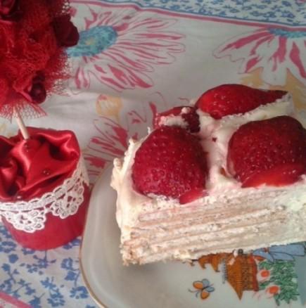 Тази божествена торта е толкова лесна и вкусна, че чак мъжа ми и детето ми почнаха да я правят! 33