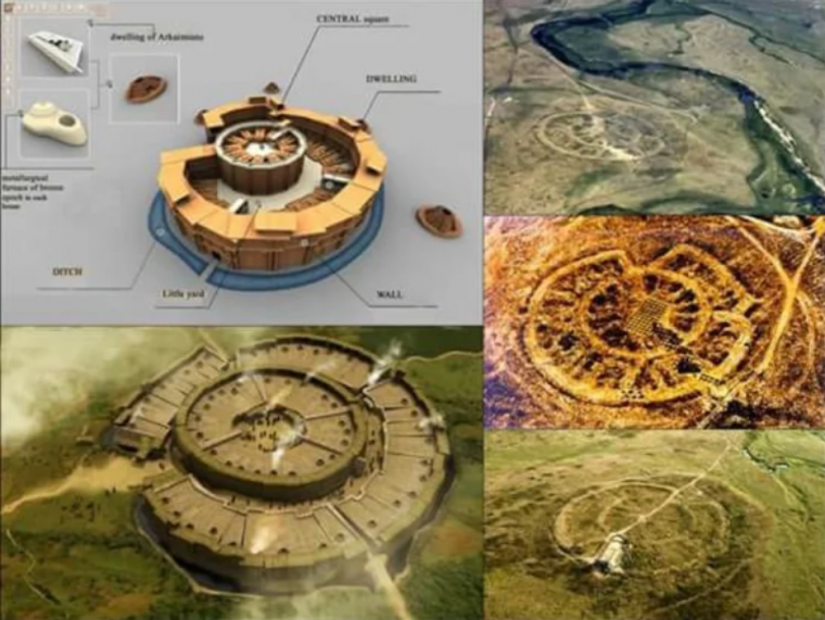 Загадачния град Аркаим - първата столица на България 8