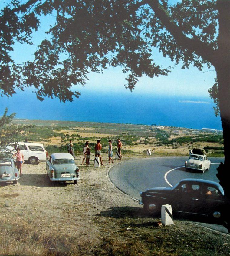 Така изглеждаше Слънчев бряг от 60-те.. Без бетон и само с Българи.. 61