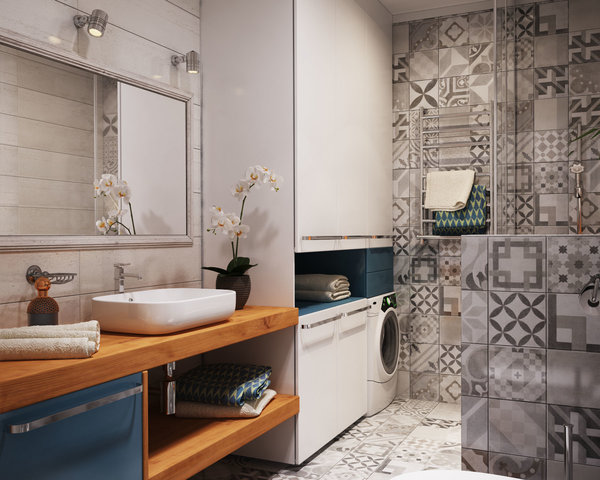 Как превърнаха 40 м² апартамент в 4 стаен луксозен апартамент (СНИМКИ) 42