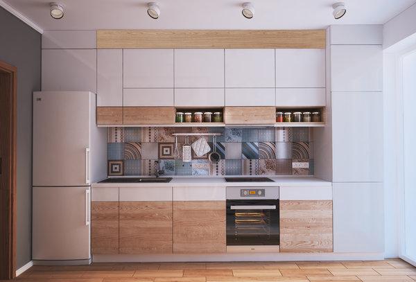 Как превърнаха 40 м² апартамент в 4 стаен луксозен апартамент (СНИМКИ) 40