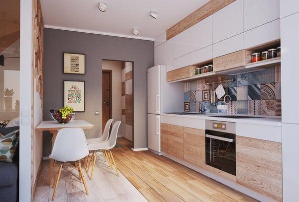 Как превърнаха 40 м² апартамент в 4 стаен луксозен апартамент (СНИМКИ) 39