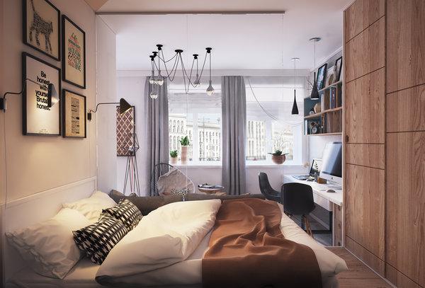 Как превърнаха 40 м² апартамент в 4 стаен луксозен апартамент (СНИМКИ) 37
