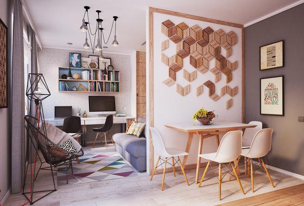 Как превърнаха 40 м² апартамент в 4 стаен луксозен апартамент (СНИМКИ) 35