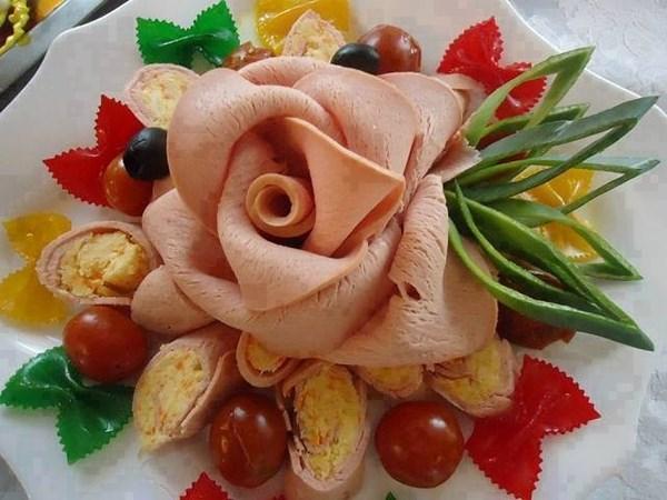 Идеи за декорация на ястията за празнична трапеза 61