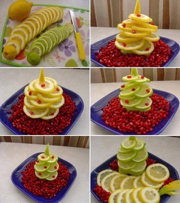 Идеи за декорация на ястията за празнична трапеза 63