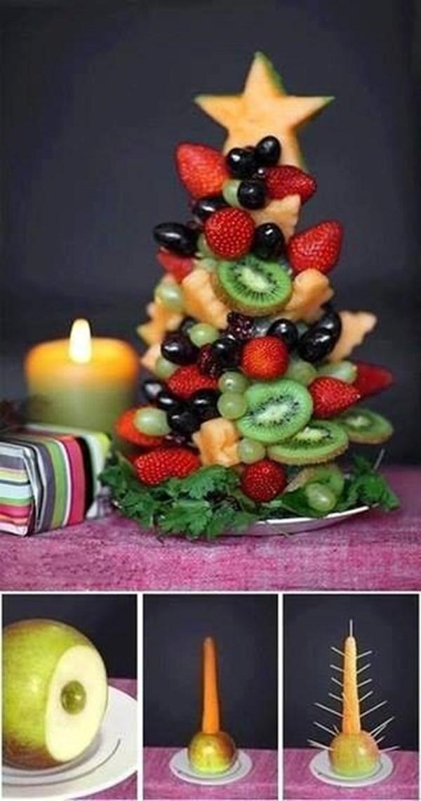 Идеи за декорация на ястията за празнична трапеза 66