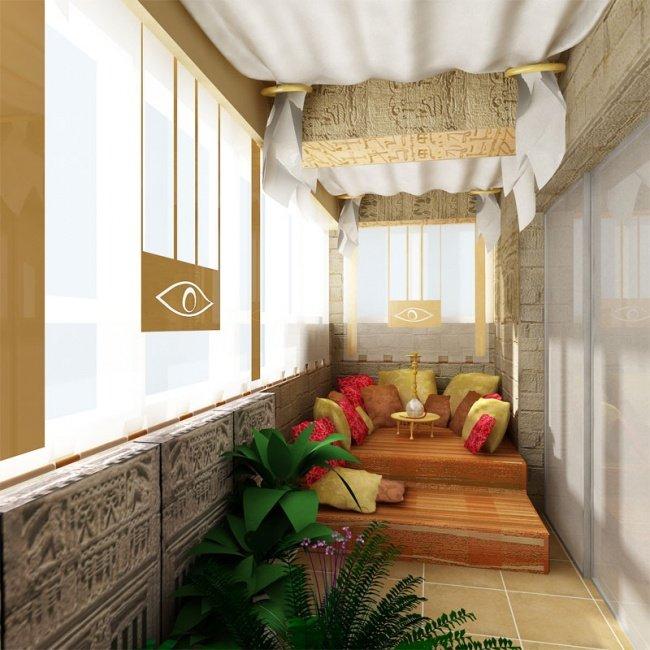 Страхотни решения за всеки балкон - 12 ТОП примера за страхотна тераса 65