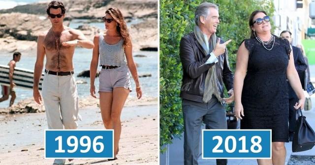 Джеймс Бонд все още е лудо влюбен жена си след 25 години брак (СНИМКИ) 54